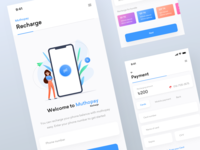 Talktime recharge UI | Muthopay