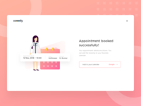 Doctor's appointment booking UI | Semmily