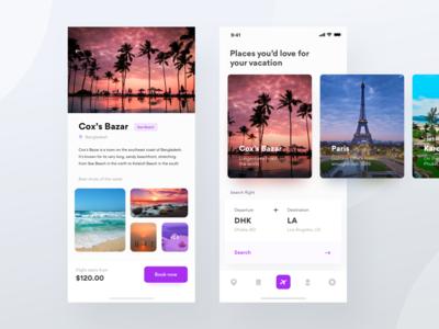 Air ticket booking app | Airexploria
