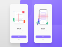 Onboarding illustration for PDF scanner app