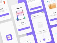 PDF scanner app UI