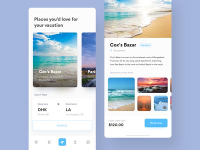Air ticket booking app v2 | Airexploria