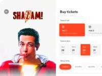 Movie ticket app   home   galaxy fold