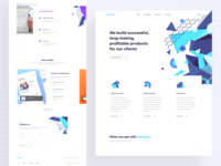 Landing page redesign - Flatastic