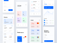 Mobile banking app - Bank Asia redesign