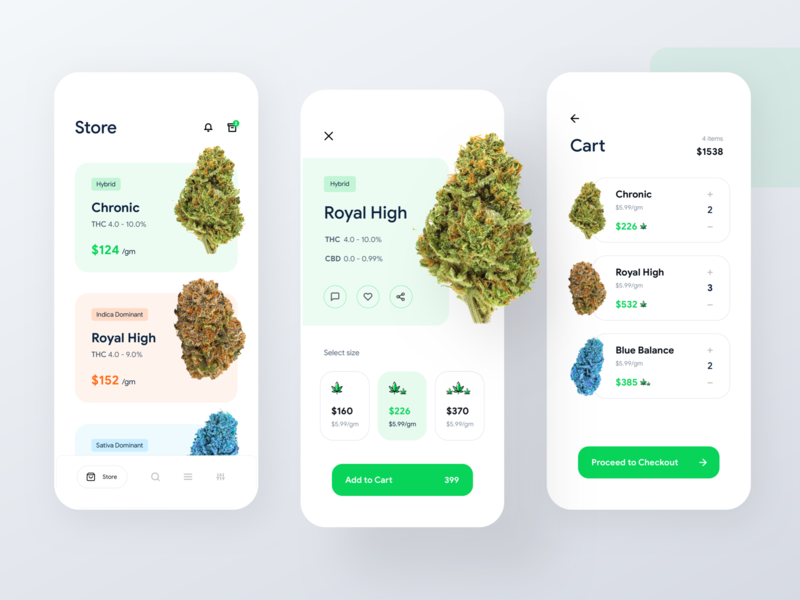 Cannabis Store mobile app cart weed cart iphone x ui design ios app app design cannabis design buy cannabis buy weed marijuana app marijuana store marijuana weed store cannabis store weed app cannabis app weed cannabis
