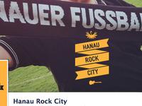 Hanau Rock City Logo