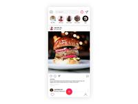 Instagram Concept UI
