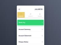 Banking App UI - Concept
