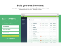 Build your own storefront