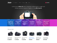 Shutter e-commerce theme