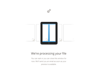Processing file