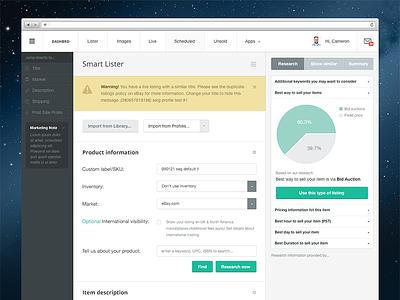 Dashboard design dashboard web webdesign web design flat admin panel form chart app web app