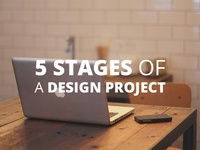 5 stages of a design project