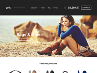 Yolk e-commerce template