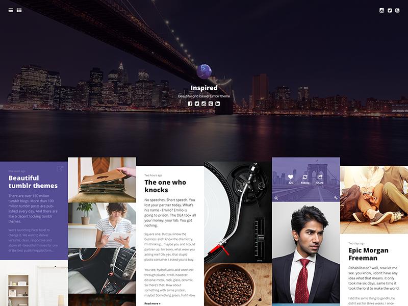 Gallery tumblr theme tumblr theme tumblr theme web website webdesign web design