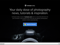 tookapic.today landing page