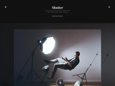 Shutter tumblr theme