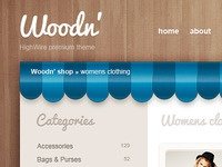 Woodn' Shop Theme