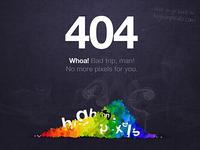 High on Pixels 404