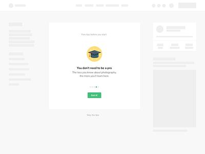 Onboarding carousel web design saas placeholder minimal website webdesign web design welcome onboarding