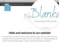Blanka website template