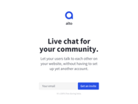 Live chat for your community
