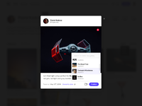 Upload  add to gallery  dribbble