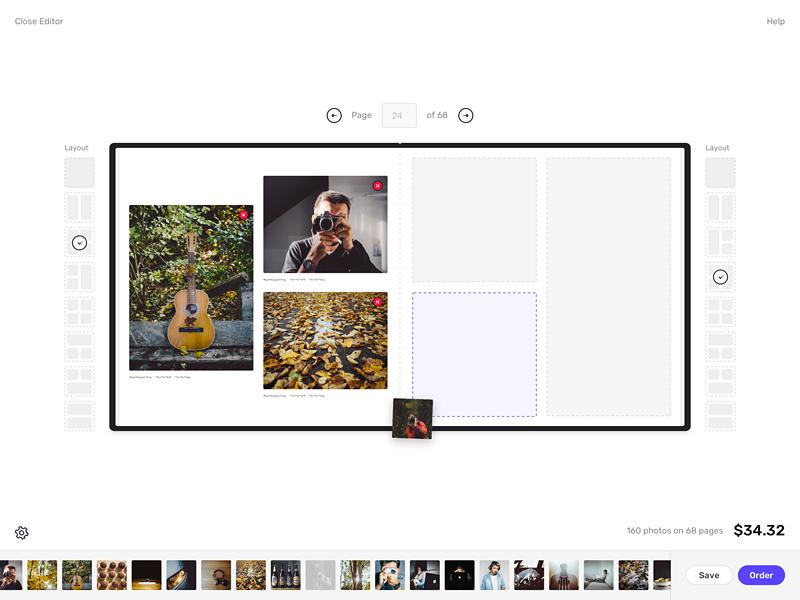 Dribbble photobook s