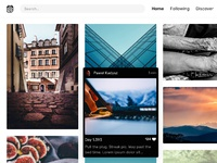 Dribbble hover