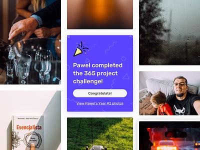 Completed! website web design minimal achievement ux interface ui design webdesign web grid masonry