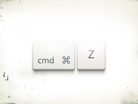 cmd+z