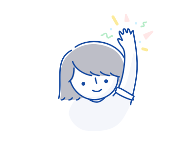 hey there, nice to meet 'cha! illustrations