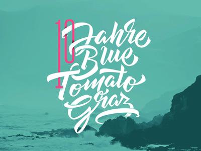 Blue Tomato sea skate lettering