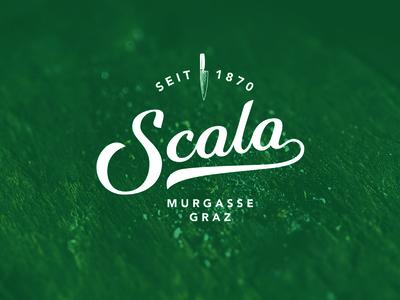 Scala  handmade branding lettering