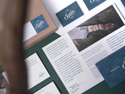 Scala // 02 stationary lettering branding