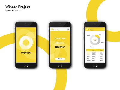 BFG App Design screen design web app design