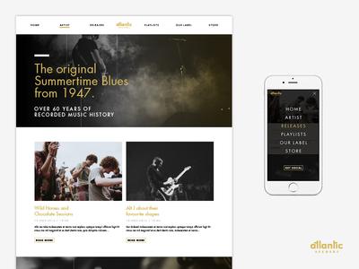 Atlantic Records Web