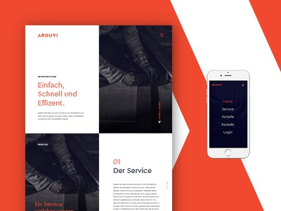 ARDUVI // 01 interface graphic network app web