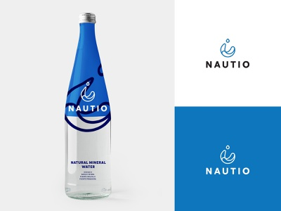 nautio vector design signet packaging food package design branding logo