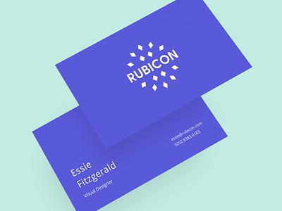 Rubicon - Logo work design vector branding logo illustration sketch