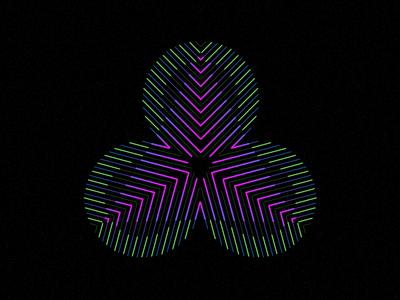 Psychedelic Spade colors life design illustration digital experiment psychedelic trippy