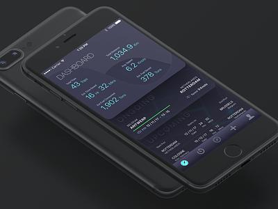 North Star Dashboard product design dashboard ux ui skeuomorphism app ios
