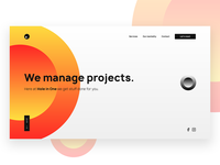 Hole in One - Landing Page