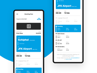 Boarding Pass App - KLM Airlines