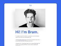 Personal Website - Bram Naus