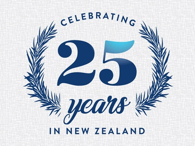 Celebrating 25 Years In New Zealand