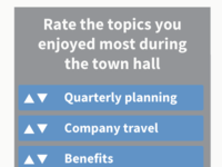 Post Event Surveys Blog Header