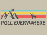 Poll Everywhere Camp Shirt