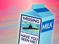 San Juan Milk Carton